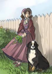 shepherdess by TeenAgeteem