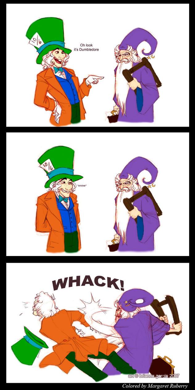 Grumpy Old Wizard-bri-chan by margflower