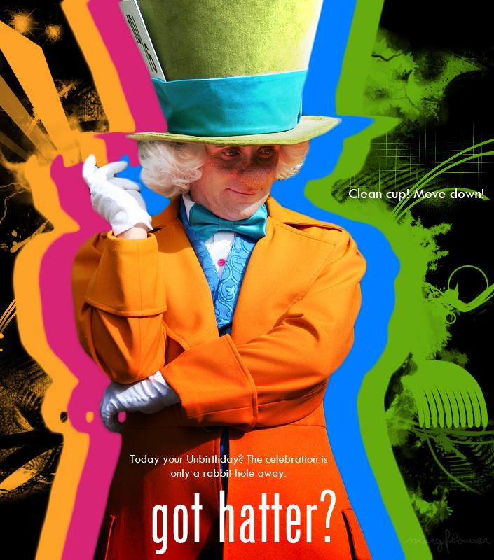 Got Hatter? by margflower