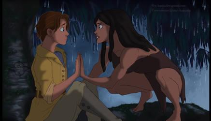 Tarzan and Jane Genderbend by Kamzeia-MS