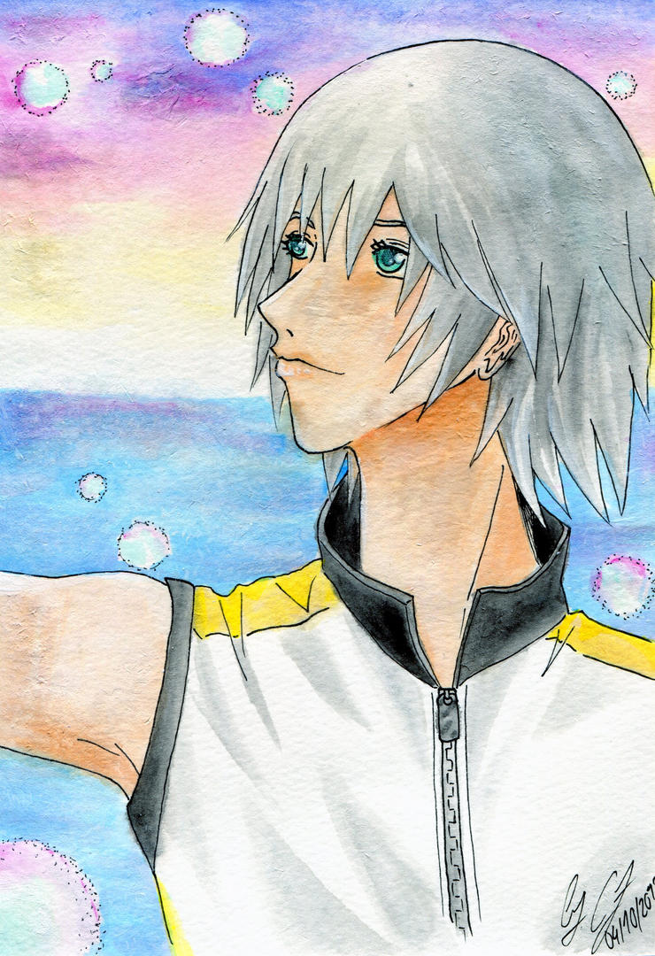 Kingdom Hearts DDD Riku Birthday gift by ReiWonderland