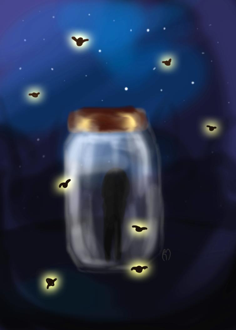Fireflies by ArtsyRosey