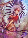(NFT art) Native american