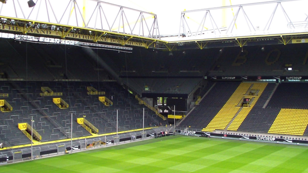 signal iduna park by dinner kun on deviantart. Black Bedroom Furniture Sets. Home Design Ideas