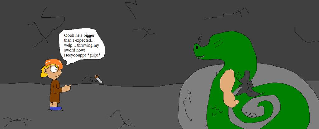 Trying to slay Trogdor by thetrans4master