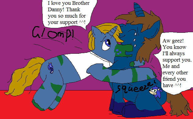 Brother Danny pony glomp by thetrans4master