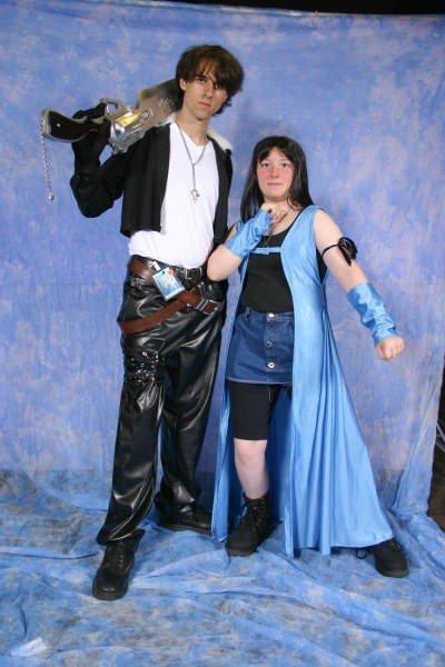 Squall And Rinoa Cosplay Squall And Rinoa Cosplay 3 by