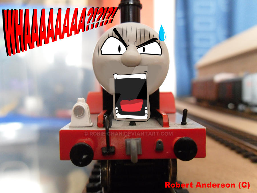 James Train Face James Anime Face by Robie Chan