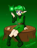 Saria the Forest Sage
