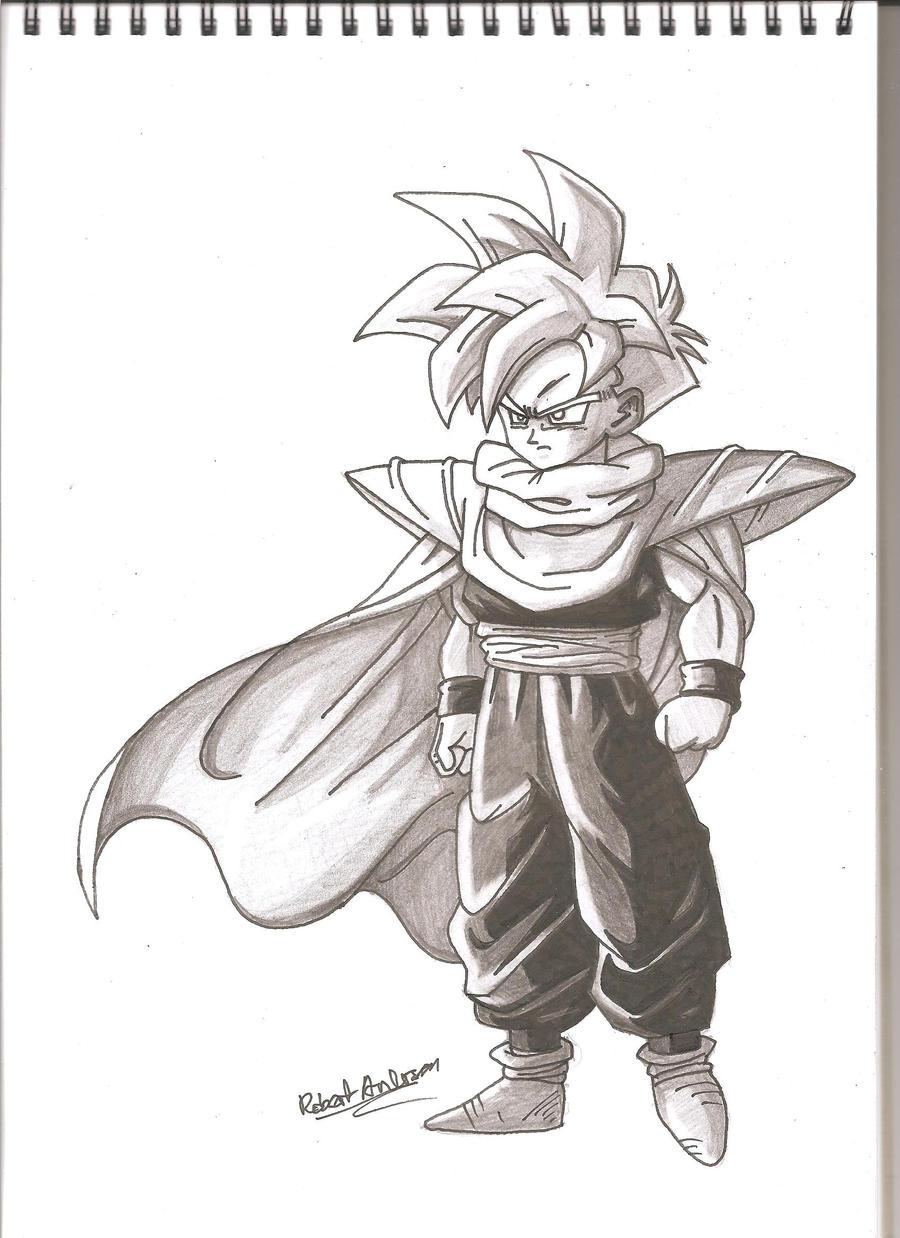 Teen Gohan Drawings
