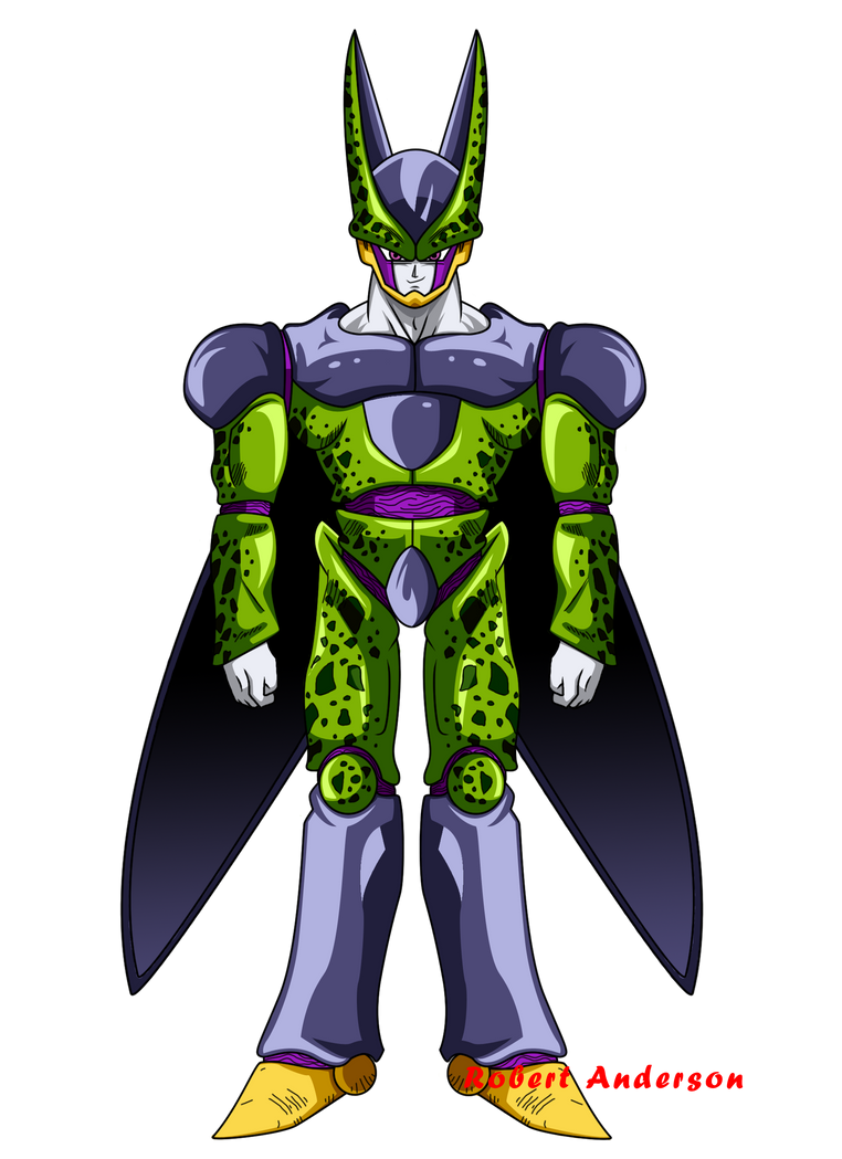 Fanart perfect cell by robie chan on deviantart for How to sell drawings online