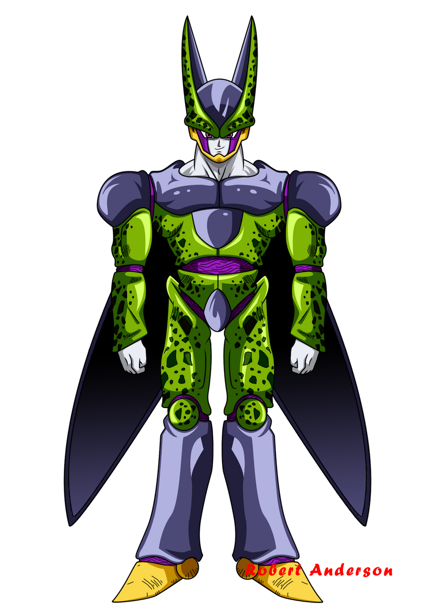 FanArt: Perfect Cell by Robie-Chan on DeviantArt