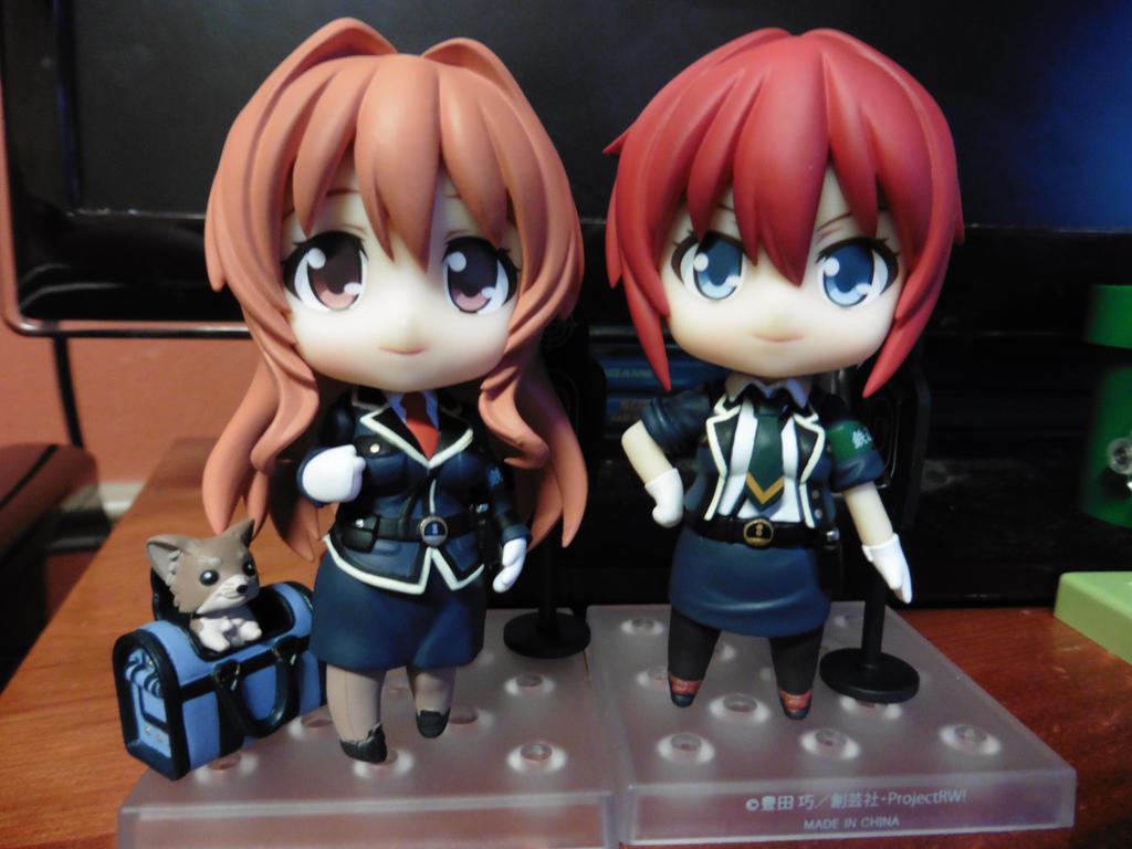Haruka and Sakurai by Robie-Chan
