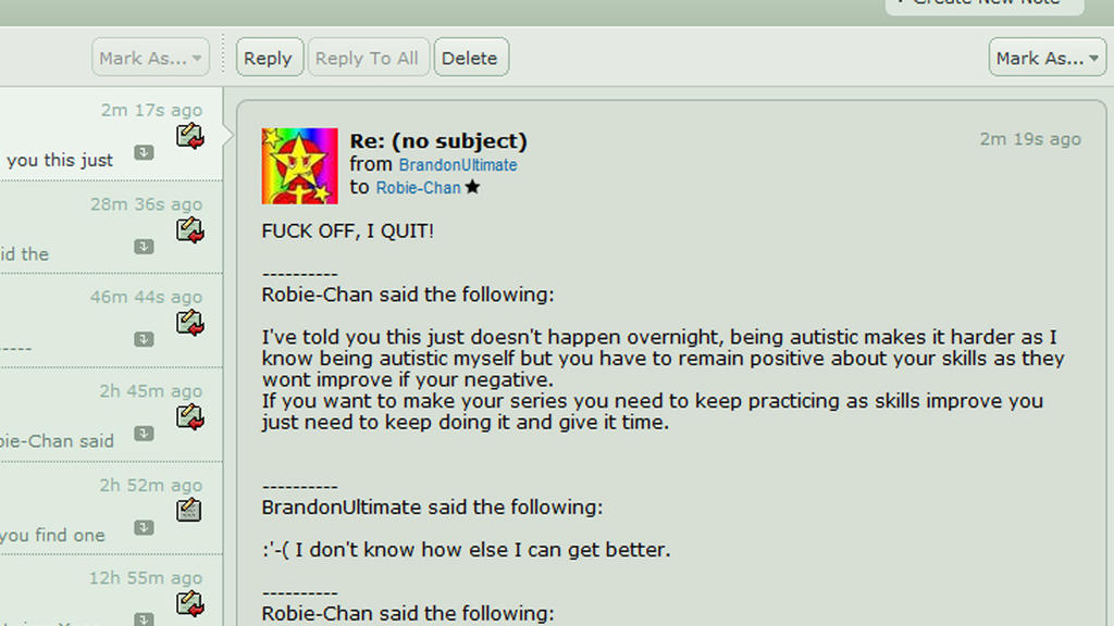 This is what I get for being kind and helpful by Robie-Chan