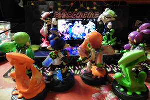Squid Sisters live!