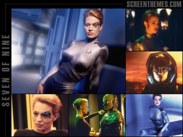 Seven of Nine Wallpaper by Seven-of-Nine-Fans