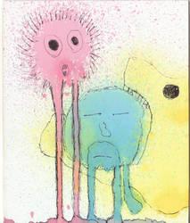 Splatter Couple. by Jackrbw