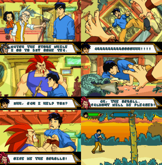 Jackie Chan Adventures Game by Ami-sensei