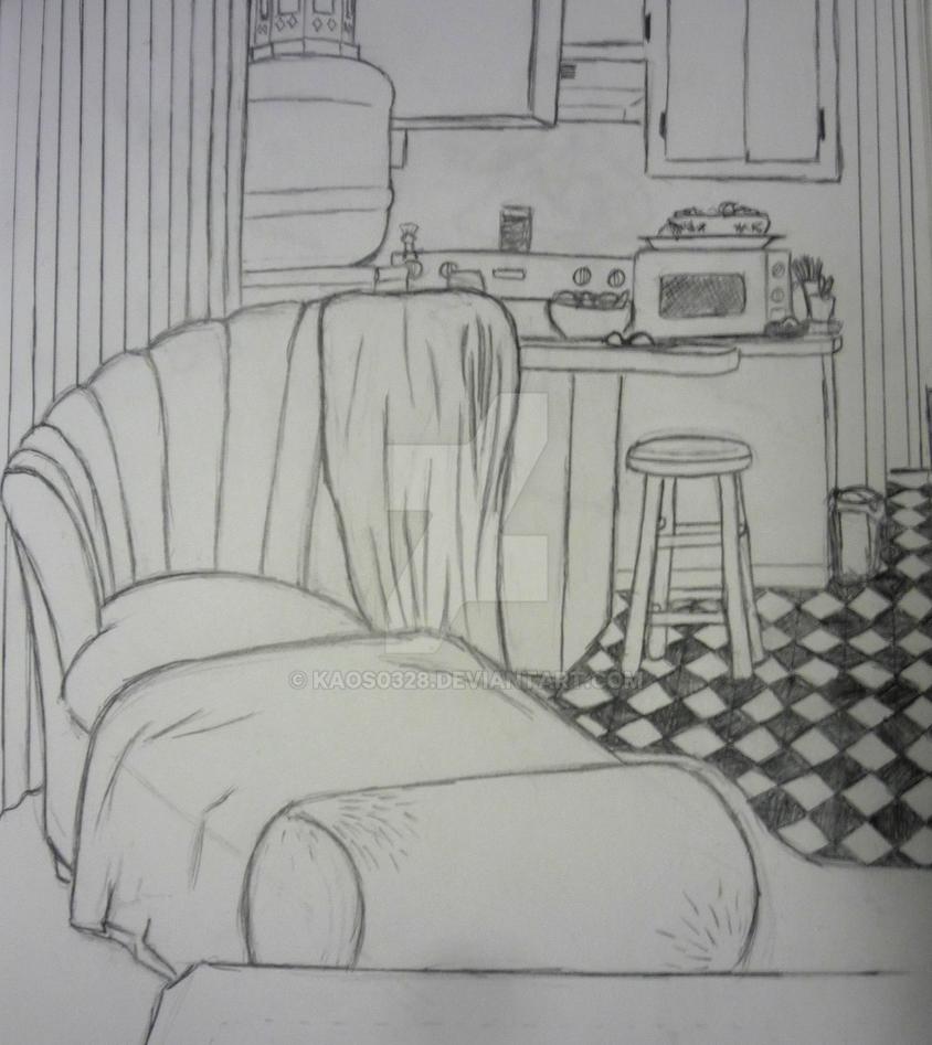 Livin Room By Kaos0328 On DeviantArt