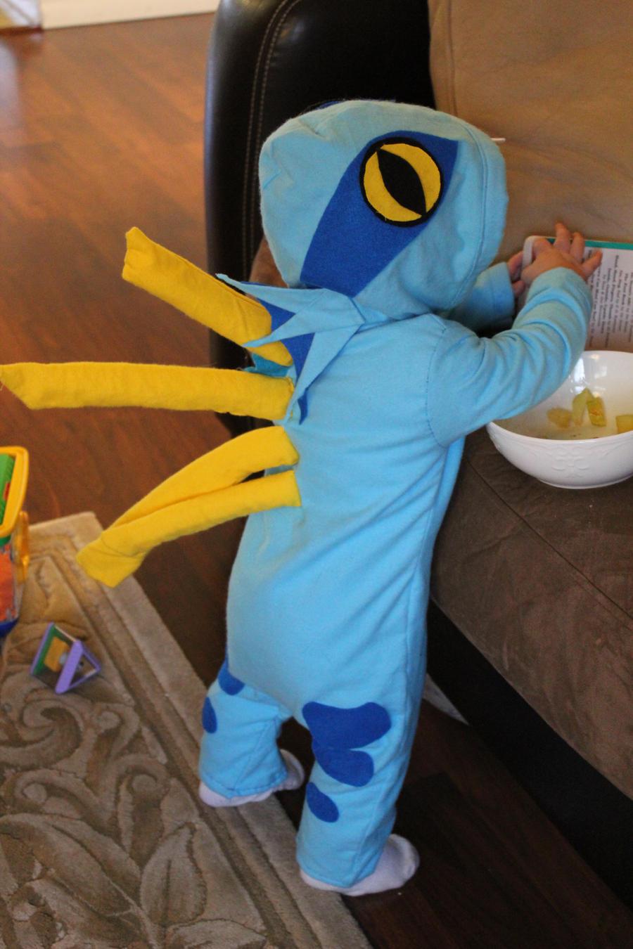 Baby Murloc Costume By Linfae On Deviantart