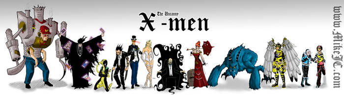 The Uncanny X-Men Redesigned by SuperMichaelMan