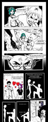 Scott Pilgrim comic by SuperMichaelMan