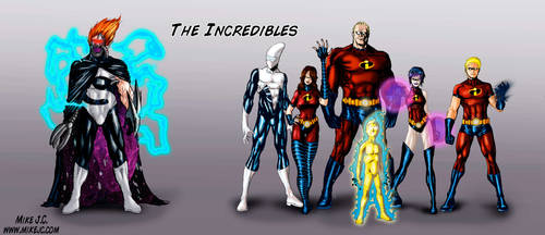 The Incredibles: Awesome'd out by SuperMichaelMan