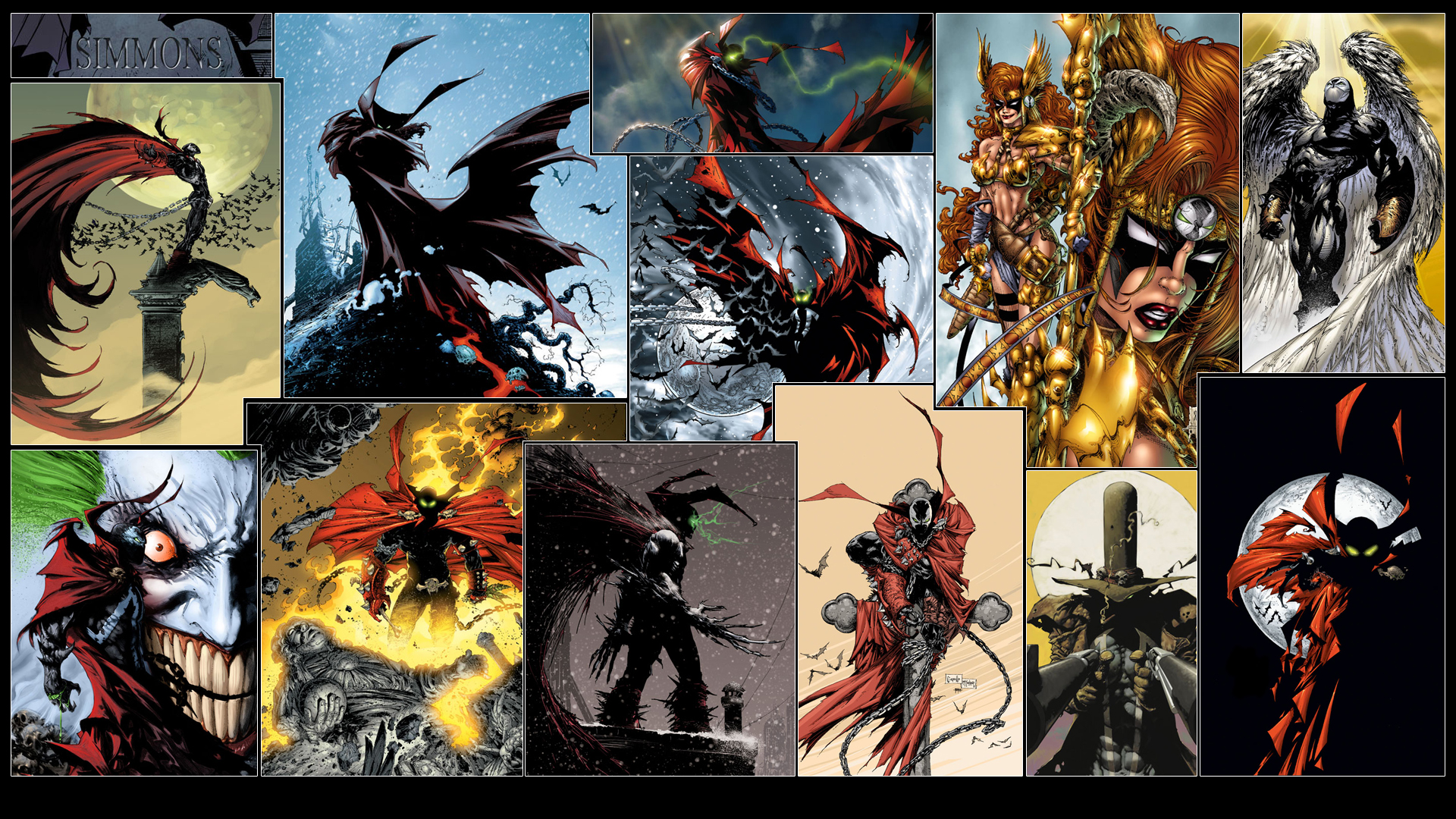 Spawn Wallpaper By GT Orphan