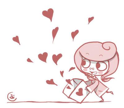 A Box Of Hearts by JaBaVoX