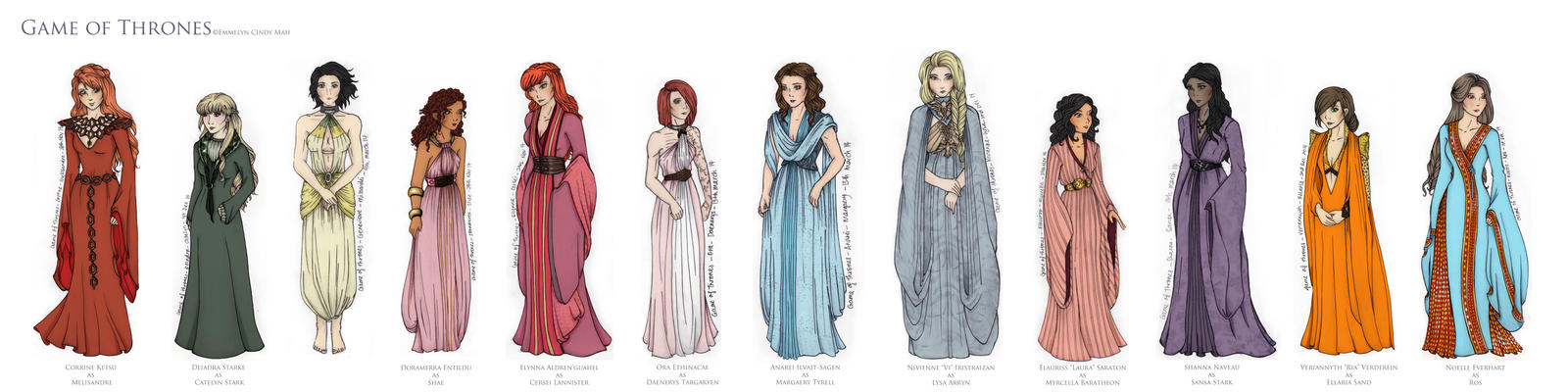 Costume Project - Game of Thrones (no background)