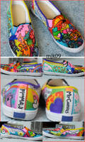 Colored Keds