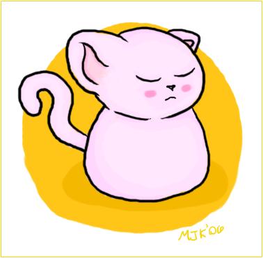 Marshmellow Cat