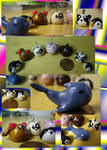 Clay Pud Charms Plus Whale