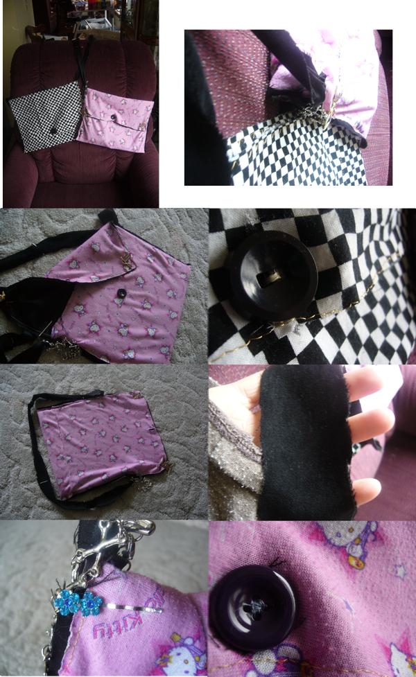 Messenger Bags: H.K.+Checkers