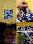 Flower Print Tote