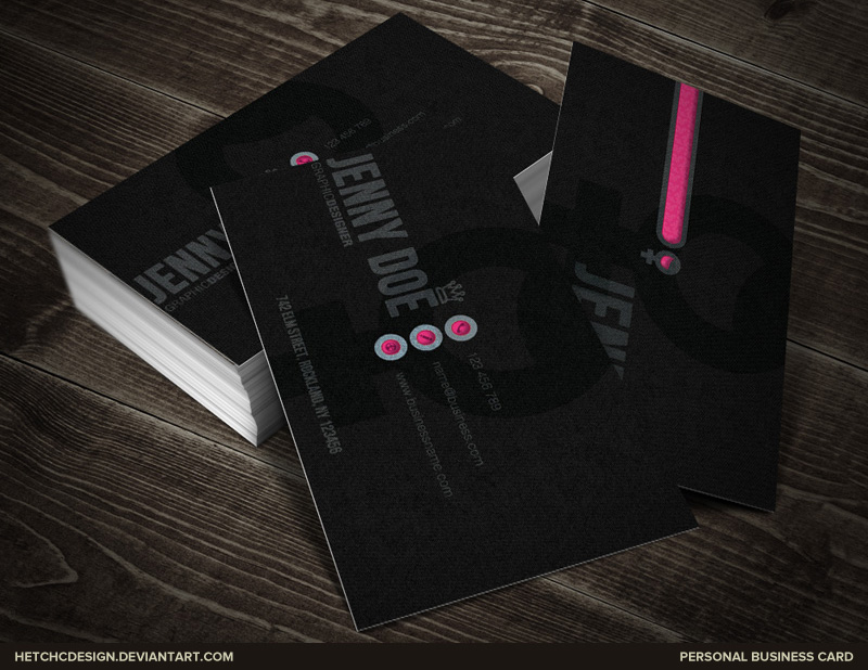 Female business card by hetchdesign on deviantart female business card by hetchdesign colourmoves