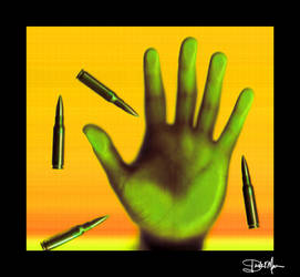Hand with Bullets