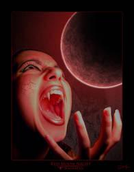 Red Moon Night by MajikMan