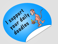 Doodle Support Sticker by surlana