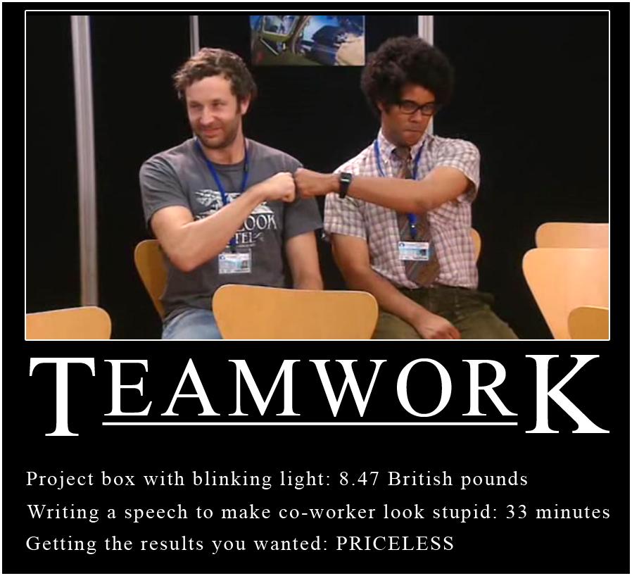 IT Crowd - Teamwork by surlana
