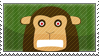 Angry Monkey Stamp by surlana