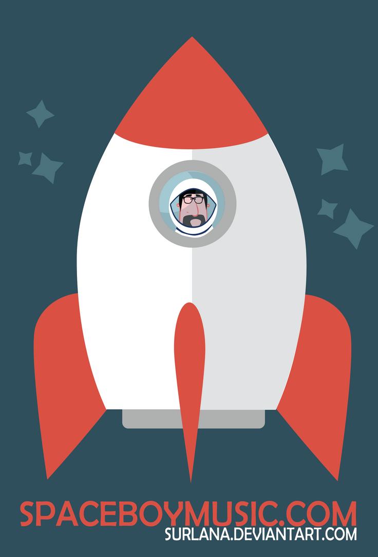 Spaceboy's Rocket by surlana