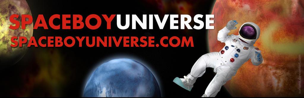 Spaceboy Universe Twitter Banner by surlana