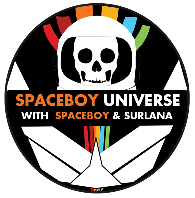 SpaceboyUniverse Broadcast Logo by surlana