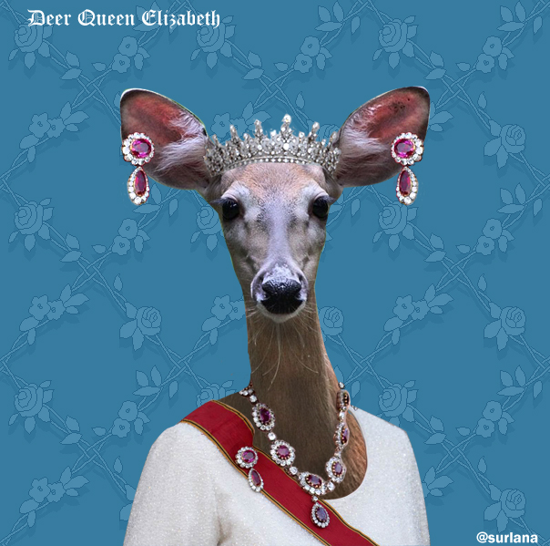Deer Queen by surlana
