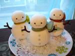 snowmen dolls by sewingstars