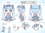Snow Miku 2018 Entry - Seal