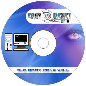 DLC boot disc cd label - robnbanks