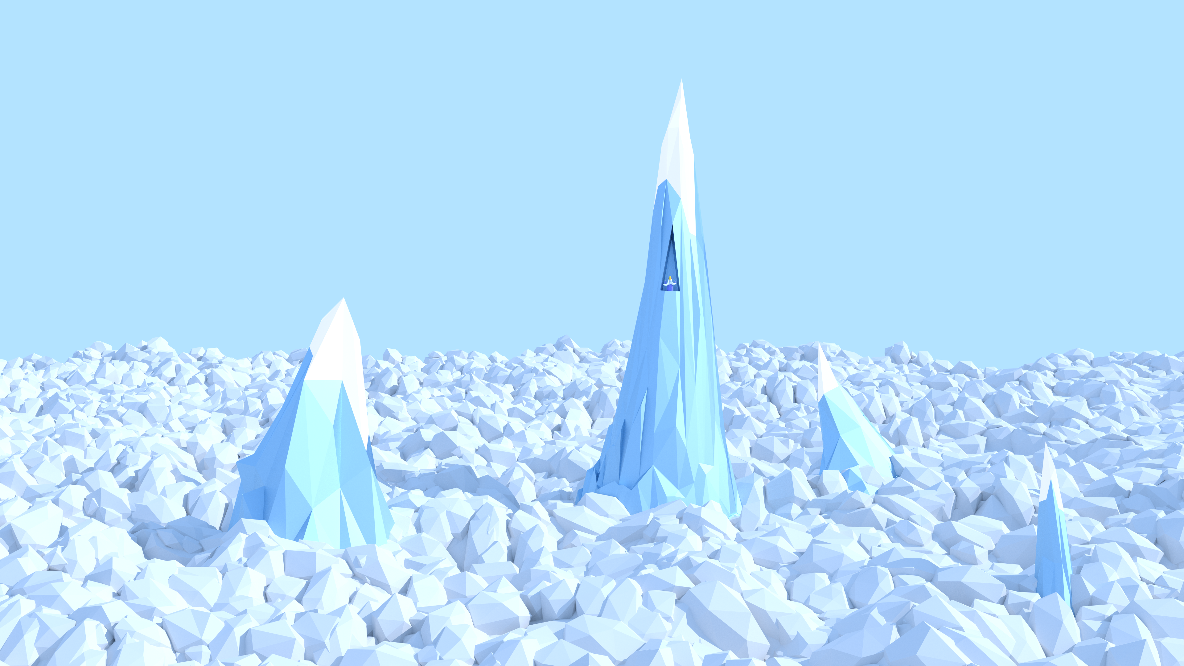 Third Low Poly Art Pubg: Low Poly Ice King By Vermacian55 On DeviantArt