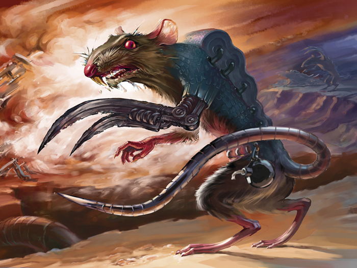 Rat-saboteur by Igor-Grechany-Ostrov
